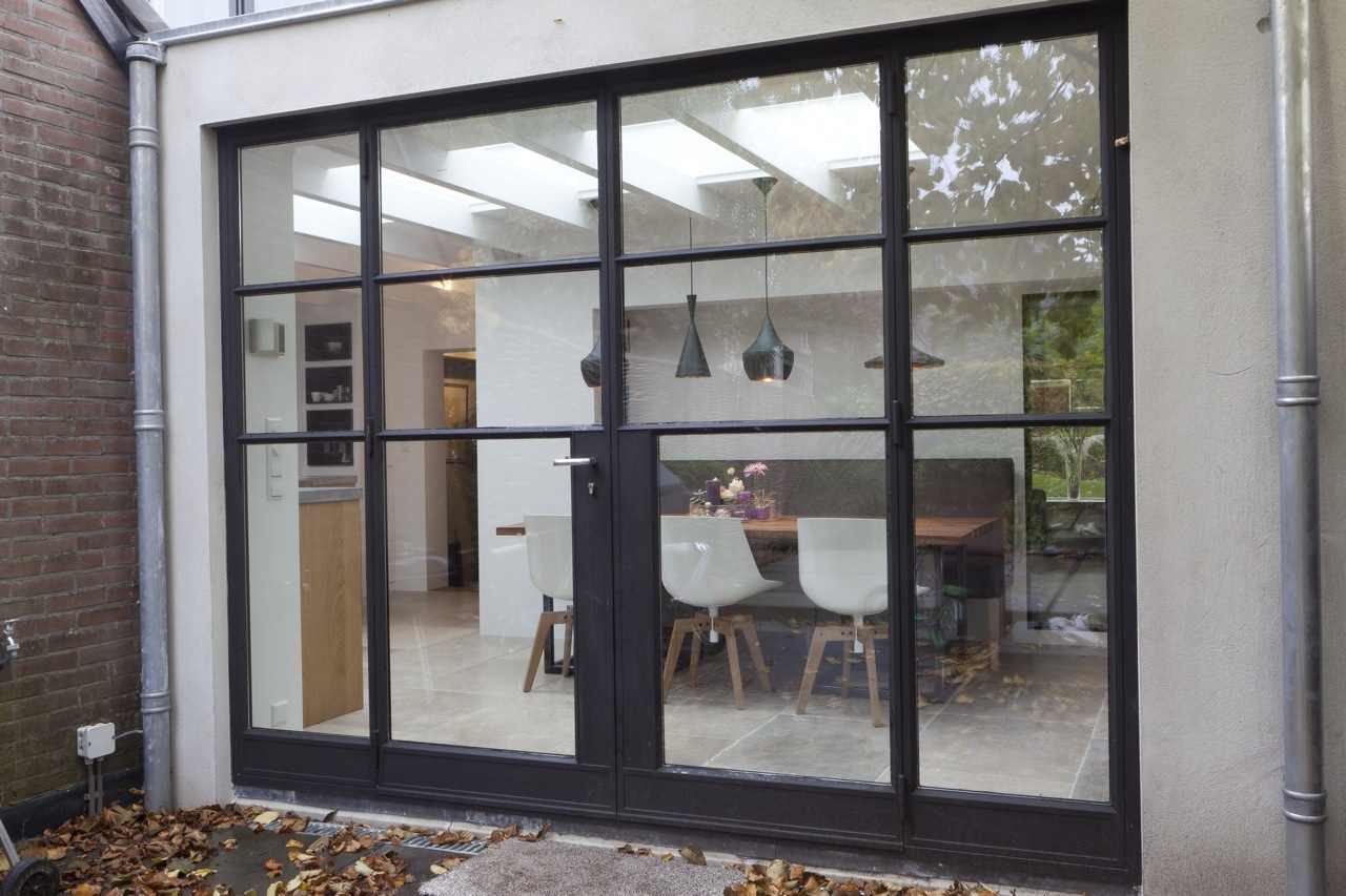 Stalen kozijnen jansen aanbouw huis voorbeelden - Maximale feuchtigkeit in wanden ...
